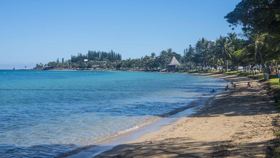 Der Anse Vata in Noumea (Neukaledonien) ist der teuerste Strand der Welt.
