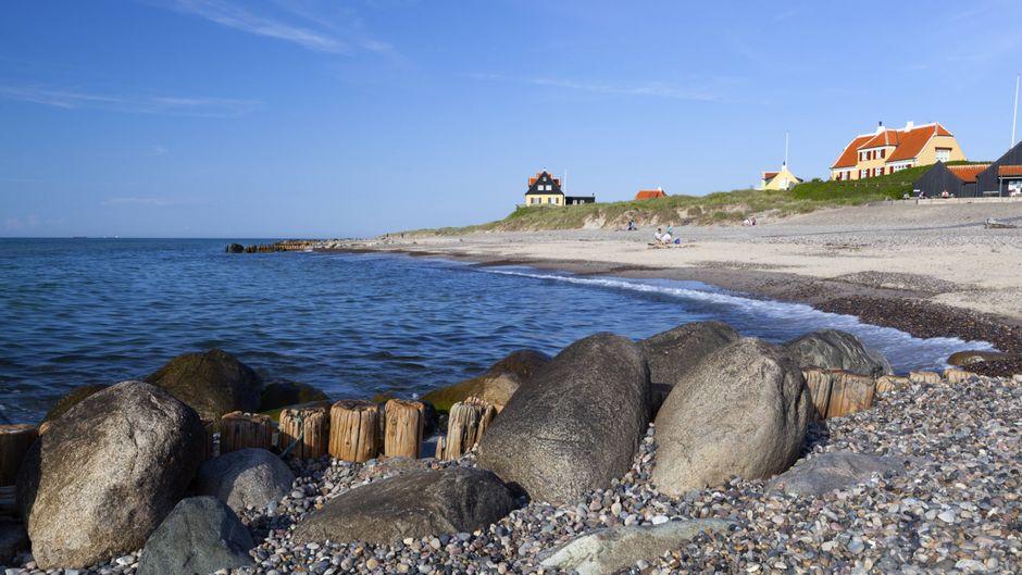 Gammel Skagen – blick auf den Strand.