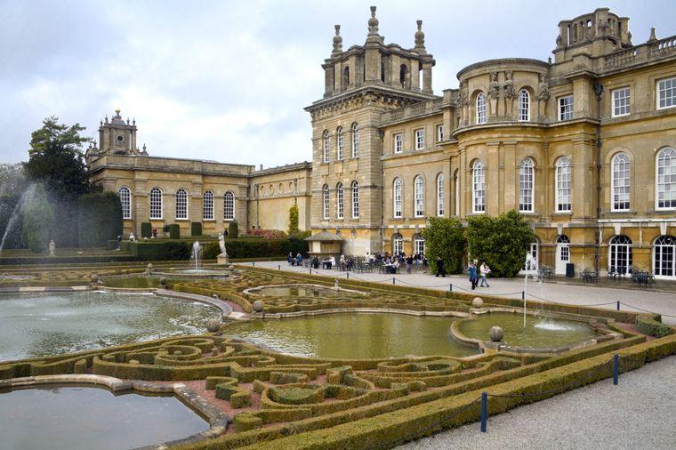 Der Blenheim Palace in Oxfordshire diente für viele Filme als Kulisse.