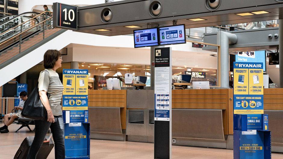 Bei Ryanair drohen auch im neuen Jahr Streiks. (Symbolfoto)