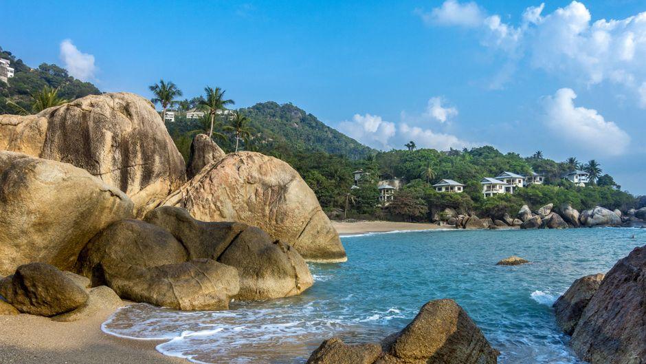 Coral Cove Beach am Golf von Thailand.