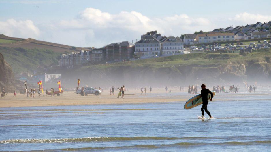 Englands Südwesten in ein echtes Surf-Paradies! Willkommen in Cornwall.
