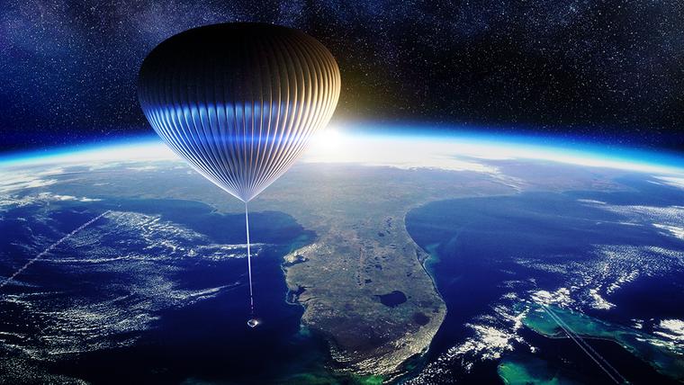 Das Unternehmen Space Perspective bietet Reisen zum All an.