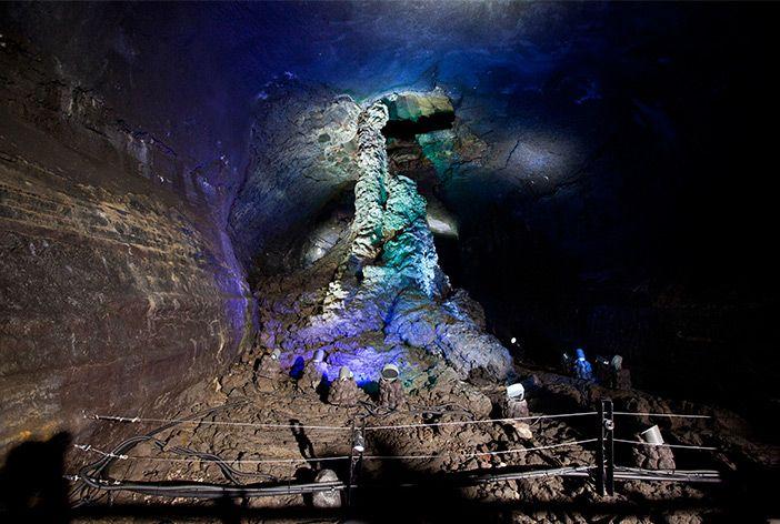 Die Höhle Manjanggul