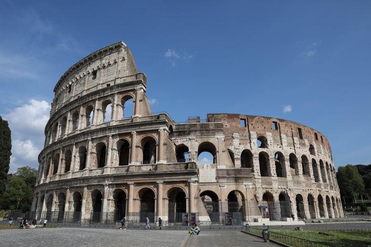 Das Kolosseum in Rom nimmt Besucher mit in eine längst vergangene Zeit.