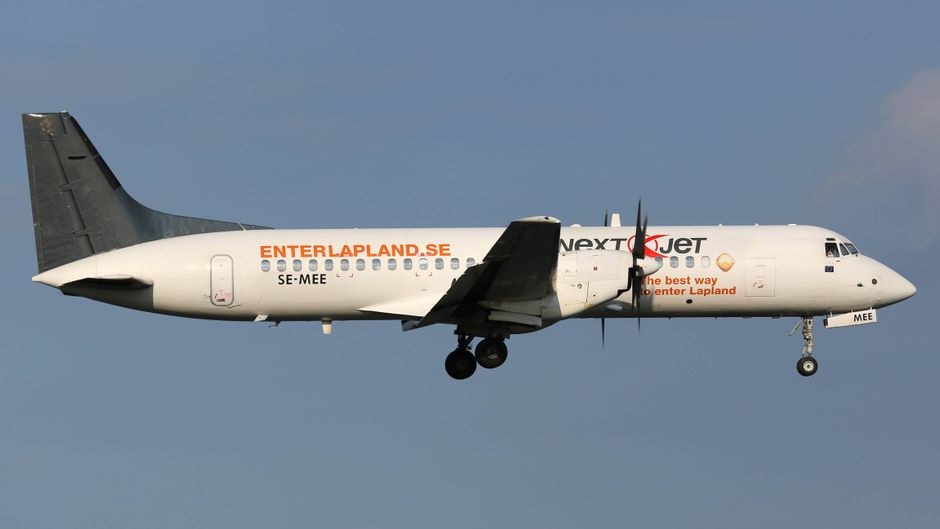 In dem Nextjet-Flugzeug waren 34 Leute an Bord, die dafür gar kein Ticket hatten.