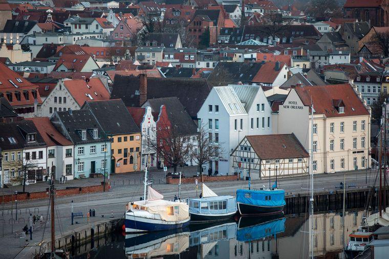Die Altstadt von Wismar gehörte einst zu Schweden.