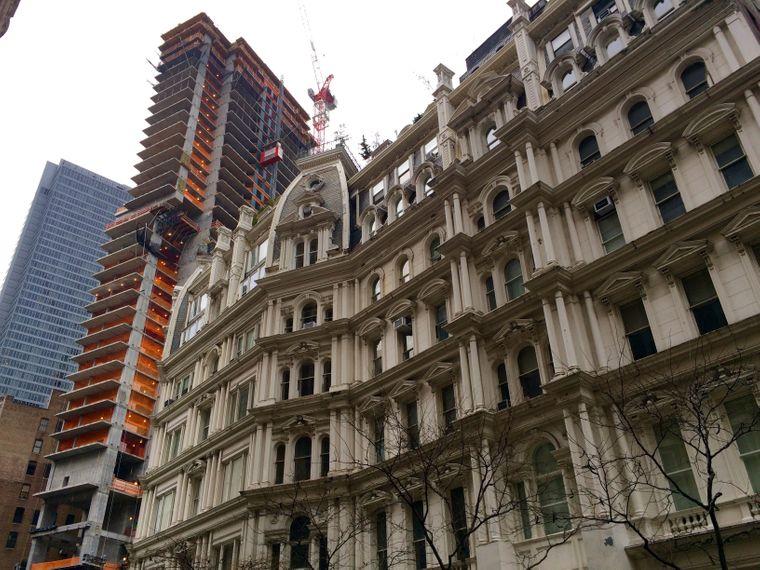 Baustelle Manhattan: Auch in NoMad entsteht an jedem freien Platz ein Wolkenkratzer.