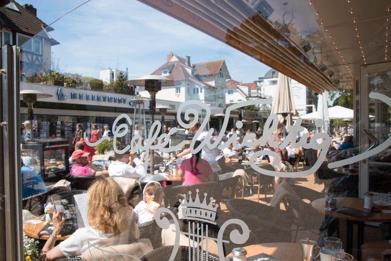 "Das Café ""Engels-Eck"" ist der Nachfolger des berühmten ""Café Wichtig""."