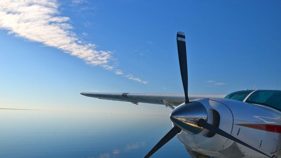 Wasserflugzeuge statt S-Bahn: In der Karibik nicht unüblich.