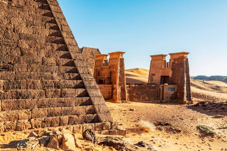 Pyramiden im Sudan.