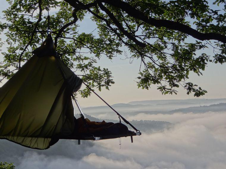 """Die """"Cloefhänger"""", ermöglichen euch exklusiv eine Nacht inmitten einer der schönsten Gegenden des Saarlandes."""