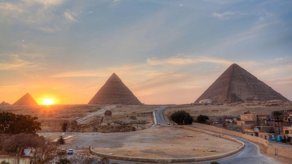 Touristen, die trotz Reisewarnung nach Ägypten reisen, müssen zurück in Deutschland mit einer 14-tägigen Quarantäne rechnen. (Symbolfoto)