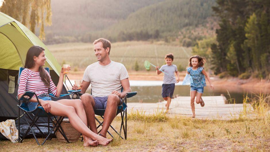 Familienurlaub am See.