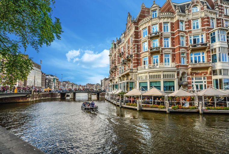 Platz 7: Amsterdam, Niederlande (durchschnittlich 178 Dollar, etwa 152 Euro, pro Nacht).