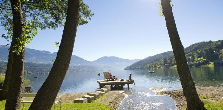 Ein See in Kärnten