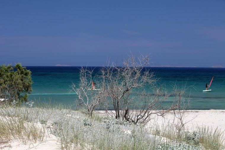 Weißer Sand, kristallklares Wasser: In Mastichari werden Strandträume wahr.