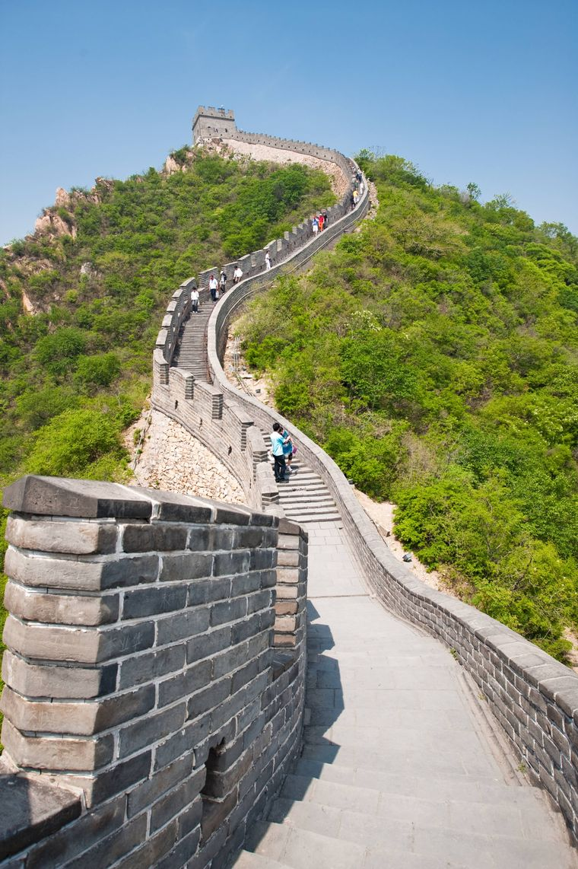 Die Chinesische Mauer in Badaling.