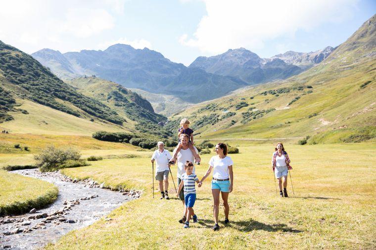 Serfaus-Fiss-Ladis gilt als perfekter Ort für einen Familienurlaub.