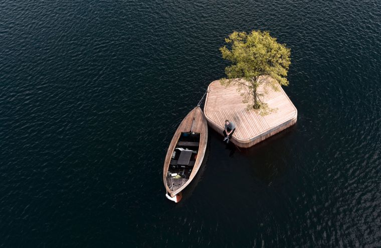 "Prototyp ""Copenhagen Island""."