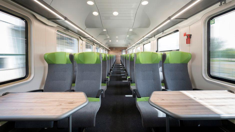So sehen die neuen Flixtrain-Züge aus.