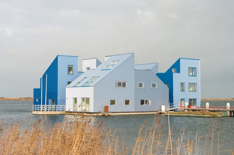 Almere: Hier gibt es abwechslungsreiche, modernste und unkonventionelle Baustile zu entdecken.