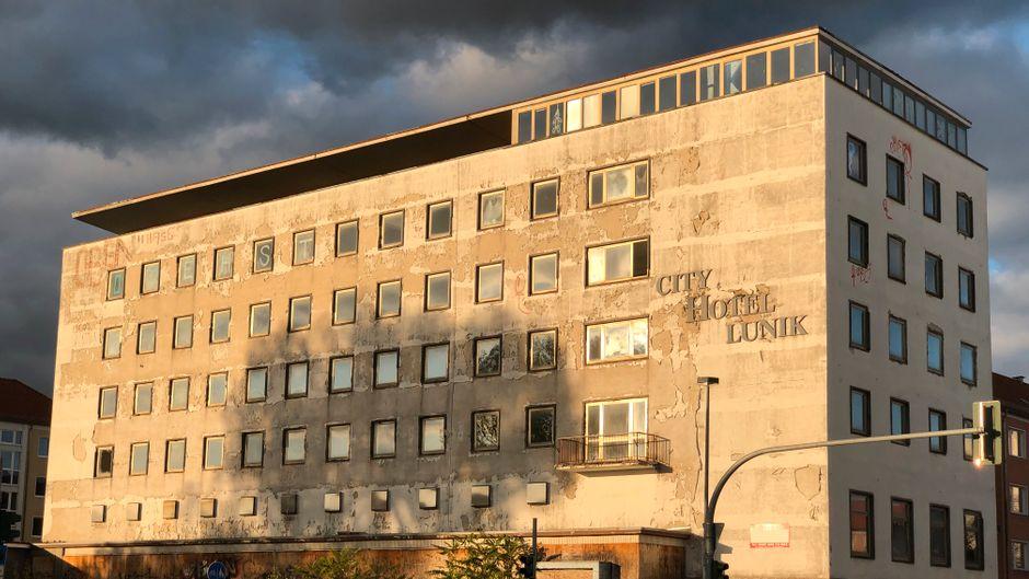 Das City Hotel Lunik ist ein Lost Place in Eisenhüttenstadt.