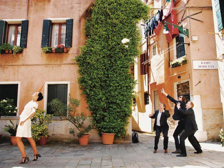 In Venedig hat das Paar geheiratet.