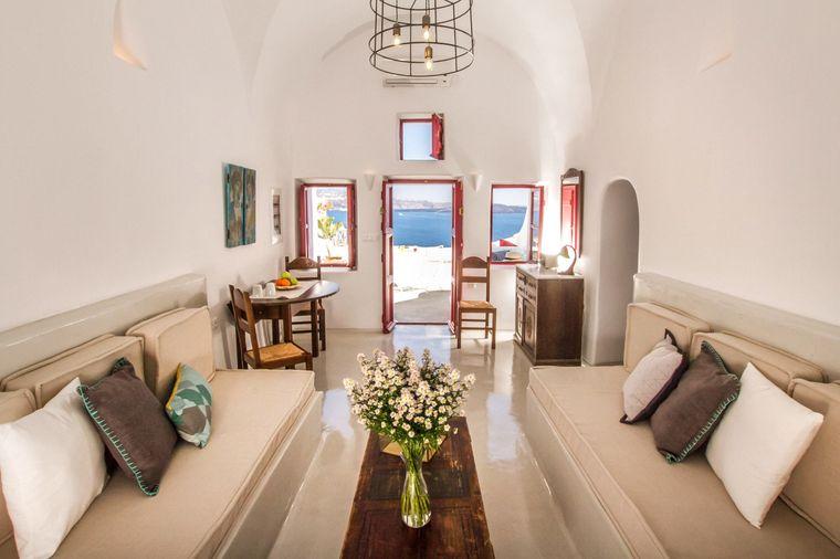 Das Höhlen-Apartment in Santorini ist eine der luxuriösesten Unterkünfte im Ranking.