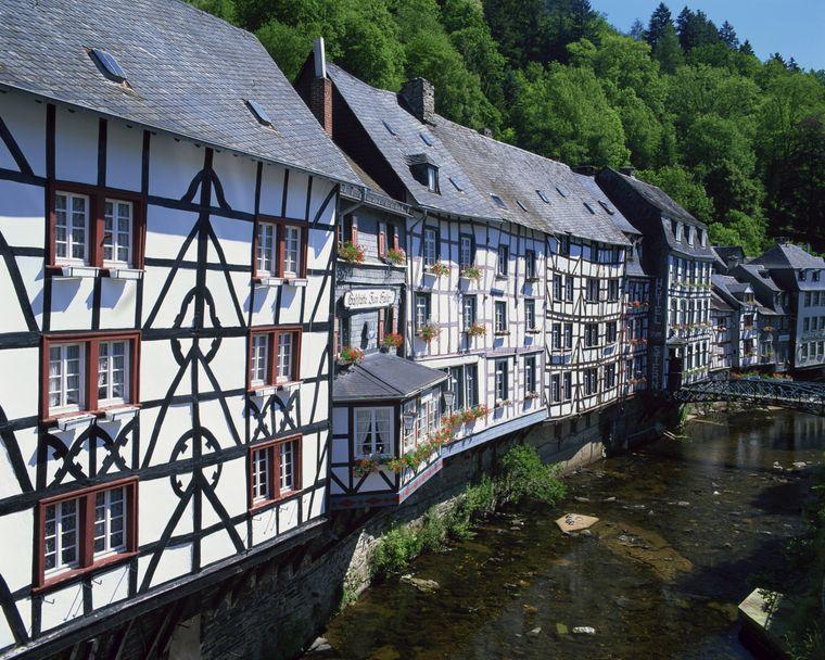 Die kleine Stadt Monschau in der Eifel ist ein Geheimtipp.