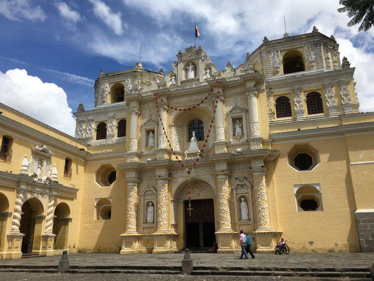 Die Kirche La Merced ist der am besten erhaltene Bau von Antigua Guatemala.
