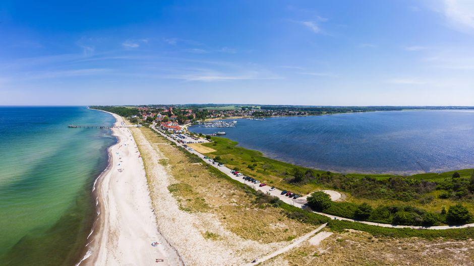 Blick auf die Wismarer Bucht: Im Ostseebad Rerik findest du Glamping-Unterkünfte für den Urlaub. (Symbolfoto)