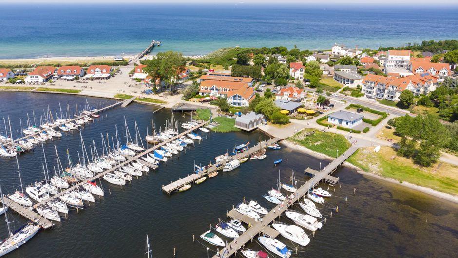 Willkommen in Rerik! Wenn du Ruhe suchst, bist du in diesem kleinen Ort an der Ostsee genau richtig.