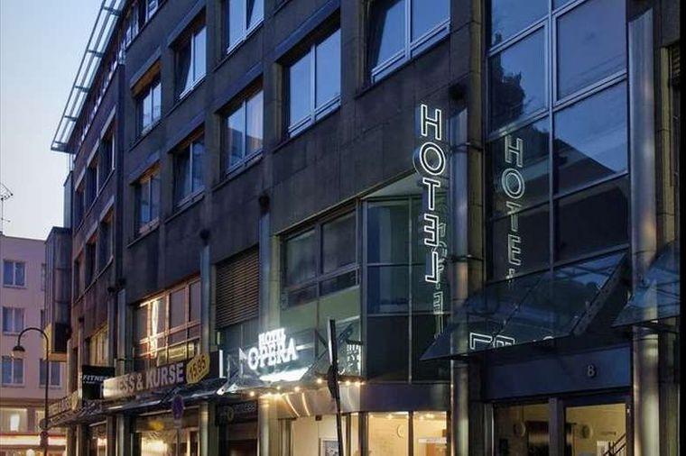 Das Opera Hotel in der Altstadt-Nord in Köln.