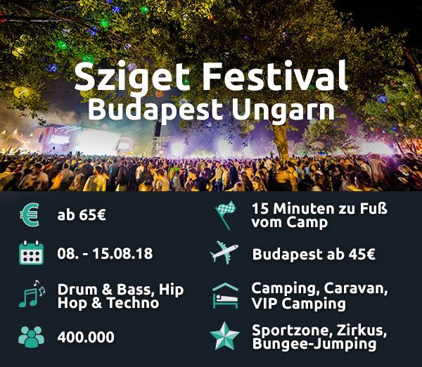 Sziget Festival.