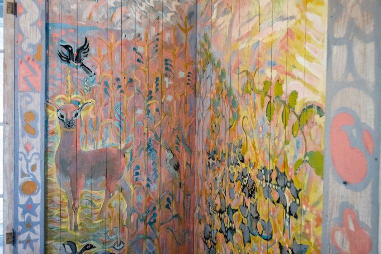 In Ocean Springs gibt das Walter Anderson Museum of Art einen Einblick in das Werk des Künstlers.