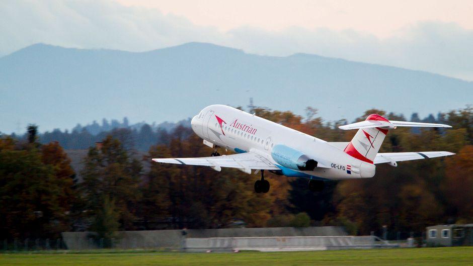 Die österreichische Regierung rettet die Lufthansa-Tochter Austrian Airlines. (Symbolbild)
