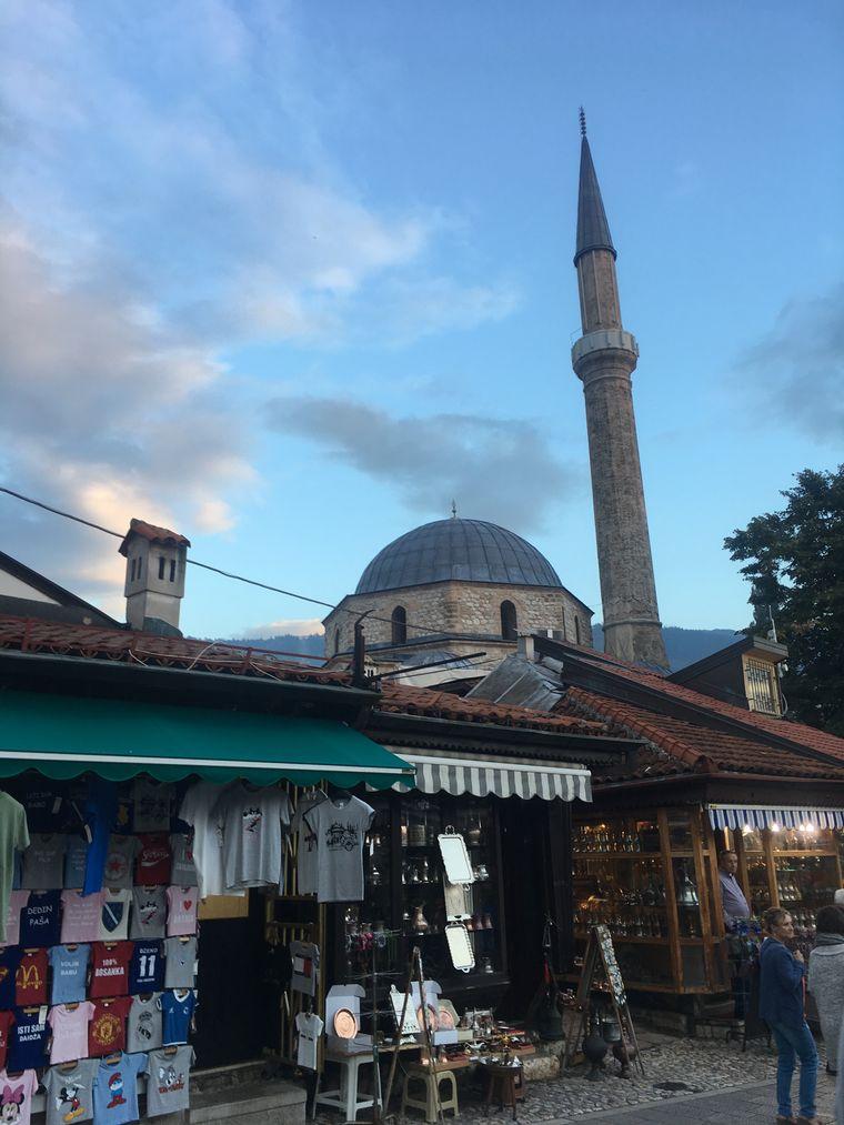 Sarajevos Altstadt.