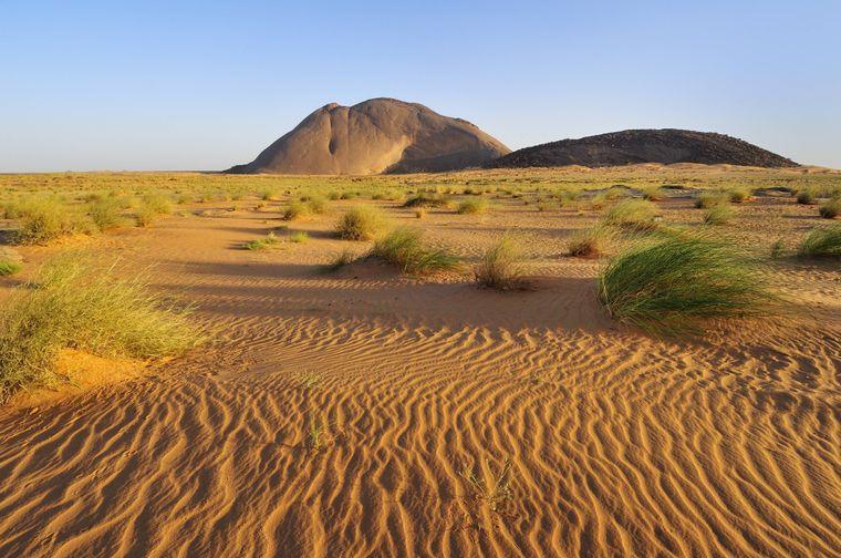 Ben Amira, der zweitgrößte Monolith der Welt, in Mauretanien.