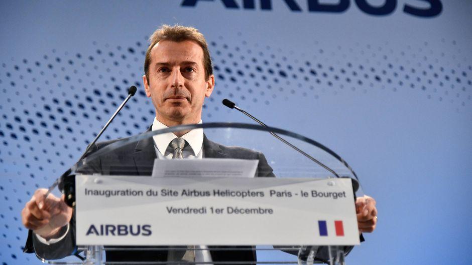 Airbus-Chef Guillaume Faury will emissionsfreies Fliegen ermöglichen.