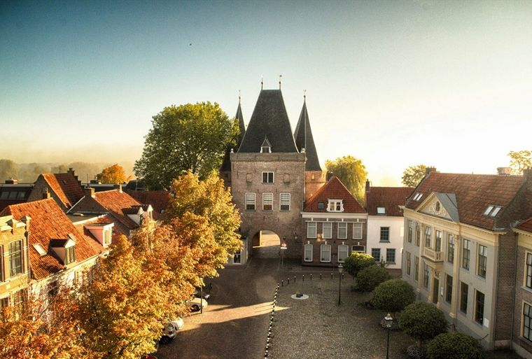 Der mittelalterliche Kern der Hansestadt Kampen zählt zu den am besten erhaltenen in den Niederlanden.