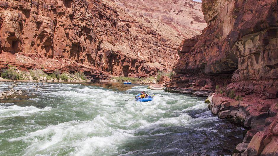 Rafting im Grand Canyon, Colorado.