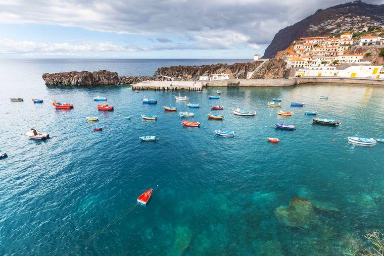 Friedliches Stillleben mit Booten – auf Madeira