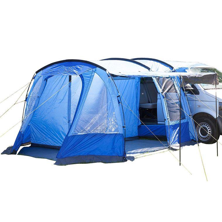 skandika Busvorzelt , freistehend mit Schlafkabine für 2 Personen