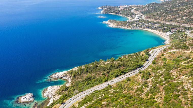 Wunderschöne Natur ganz im Norden Griechenlands: Ammolofi in Ostmakedonien.