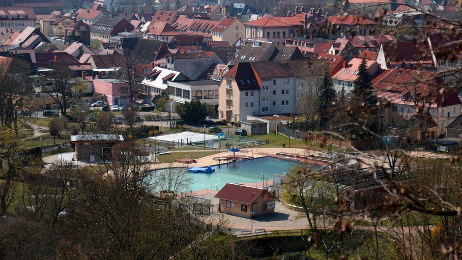 Bad Frankenhausen gehört zu den schönsten Städten Thüringens.