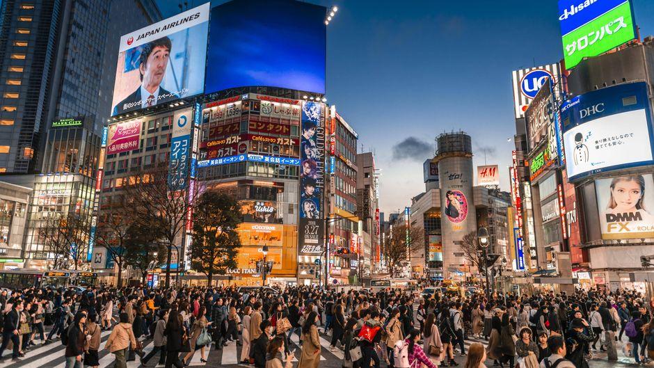 Das hier ist Tokio – aber wie hieß die japanische Hauptstadt bis ins 19. Jahrhundert?