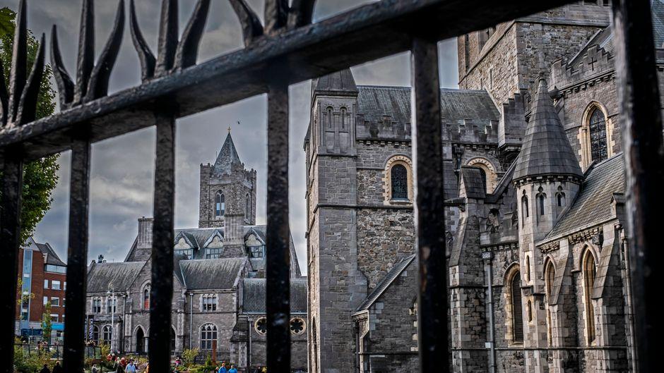 Die Christ Church Cathedral in Dublin können sich Touristen erst mal nur nach einer Quarantäne ansehen.
