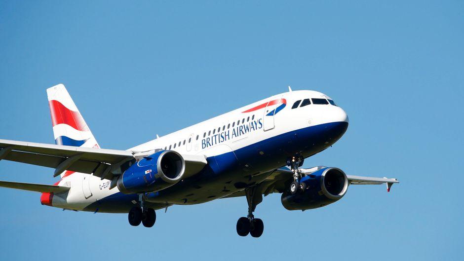 Flugzeug von British Airways.
