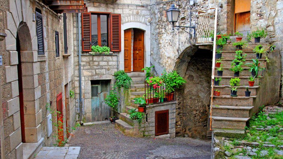 Cancellara in der italienischen Provinz Potenza ist nicht weit von Laurenzana entfernt – der Gemeinde, die 1-Euro-Häuser ohne Kaution anbietet.